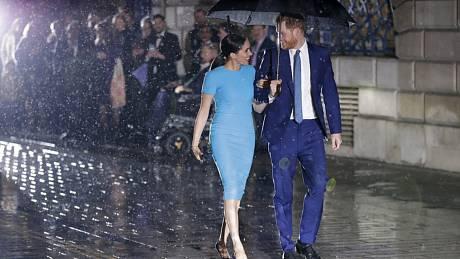 Harry s Meghan v Londýně