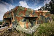 Pevnostní skanzen, srub Březinka u Náchoda