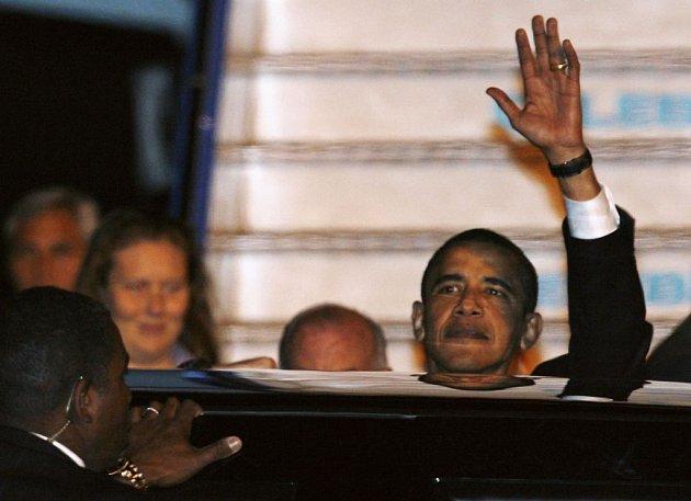 Barack Obama přiletěl 5. dubna do Turecka