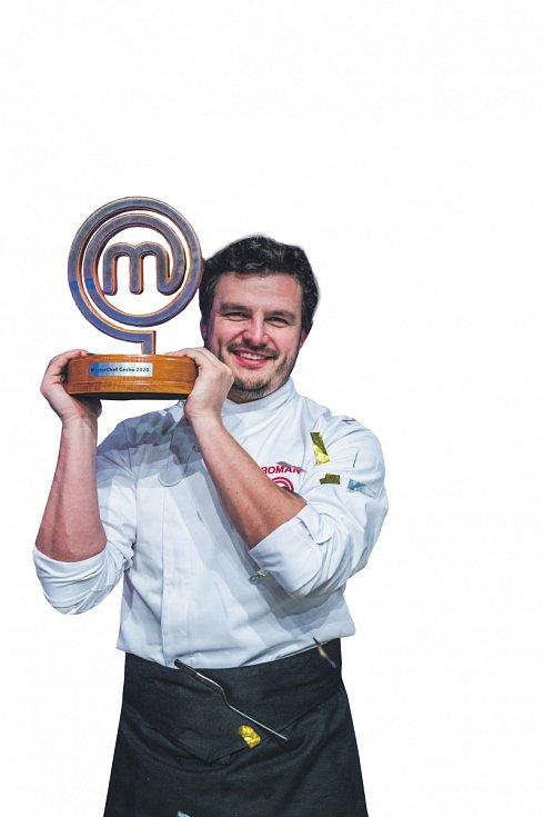 Vítěz TV soutěže MasterChef Roman Staša