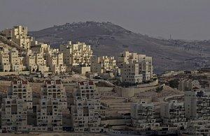 Židovská osada Har Homa na Západním břehu Jordánu.