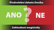 Předvolební debata Deníku na letišti s pražským lídry politických stran – téma zahloubení magistrály