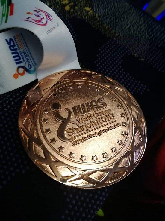 Bronzová medaile ze Světových her v Sharjahu