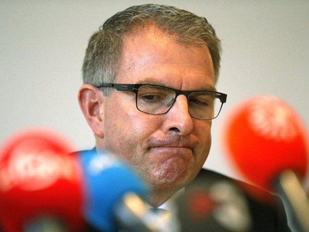 Šéf Lufthansy, mateřské společnosti aerolinek Germanwings, Carsten Spohr.