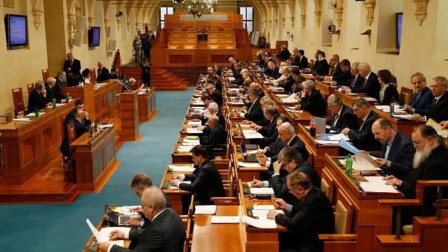 Jednání Senátu - Ilustrační foto