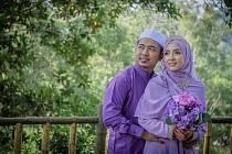 Manželský pár v Malajsii