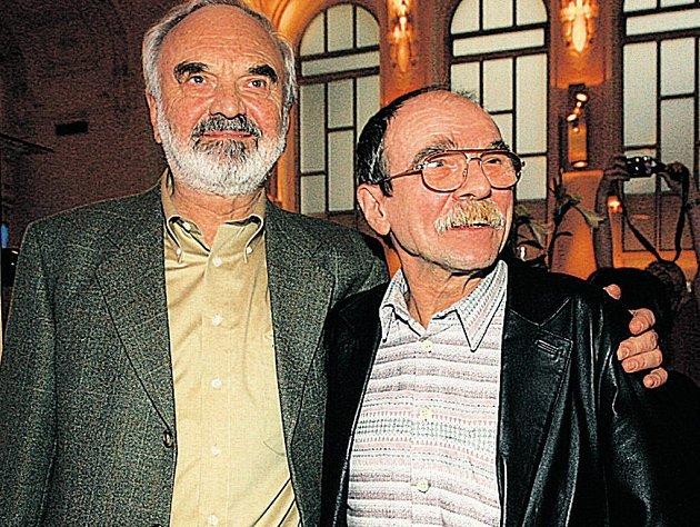 Zděnek Svěrák a Jaroslav Uhlíř
