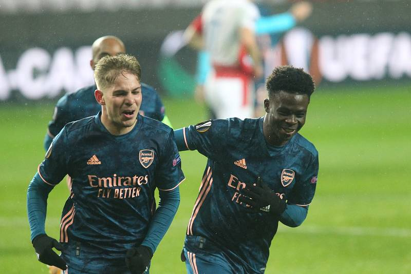 Poslední povedený zápas Arsenalu? Dá se říct, že šlo o čtyřgólovou pohádku v Edenu (ano, se Slavií)