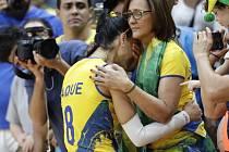Brazilské volejbalové šampionky vypadly už ve čtvrtfinále