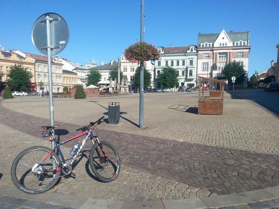 Na náměstí v Kolíně