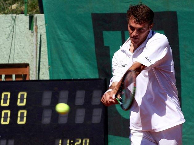 Ilustrační foto - František Čermák na turnaji v Mostě.