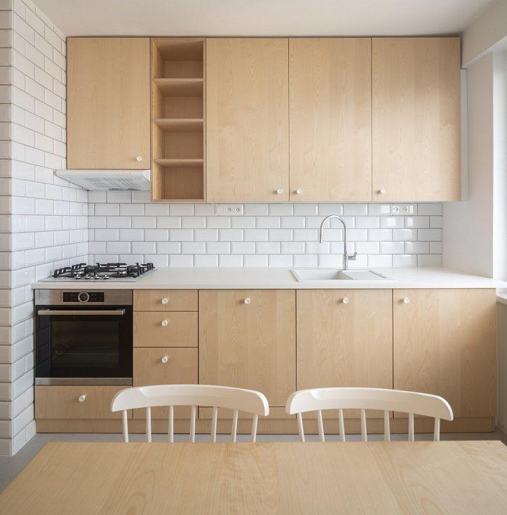 Architektura - Studio AEIOU. Interiér bytu v Brně