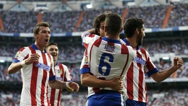 Atlético Madrid se raduje