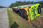 Nehoda autobusu v Německu.