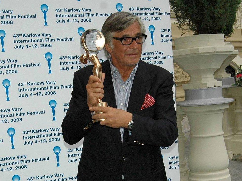 Jiří Bartoška, prezident filmového festivalu v Karlových Varech