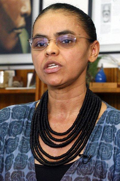 Rezignace ministryně životního prostředí Mariny Silvy (na archivním snímku) z minulého týdne vzbudila obavy enviromentalistů o budoucnost brazilského deštného pralesa.