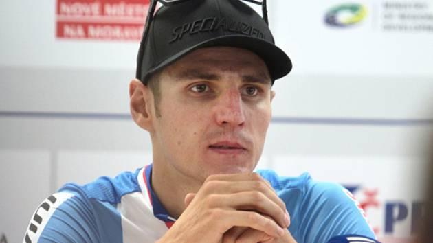 Biker Jaroslav Kulhavý.