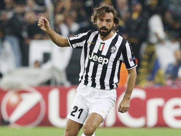 Kanonýr Juventusu Andrea Pirlo.