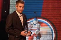 Nejlepší brankář sezony Pavel Francouz z Litvínova.