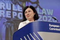 Místopředsedkyně Evropské komise Věra Jourová