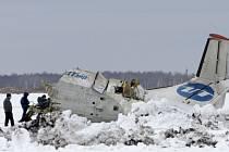 Nedaleko ruského sibiřského města Ťumeň se krátce po startu zřítilo letadlo se 43 lidmi na palubě.