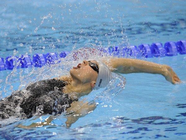 Simona Baumrtová na olympijských hrách vLondýně.