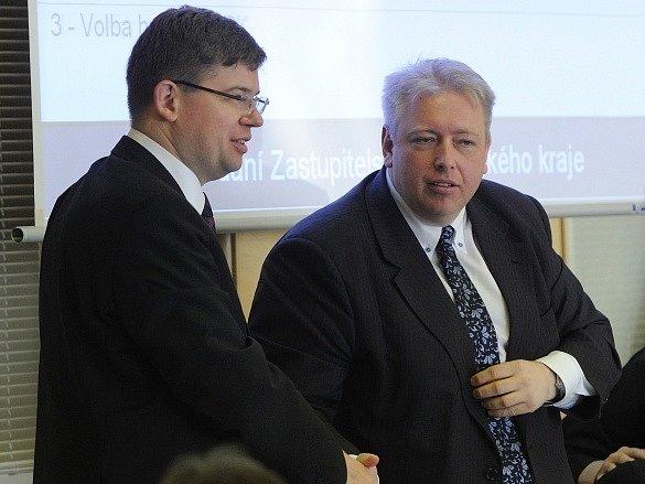 Jiří Pospíšil (vlevo) a Milan Chovanec
