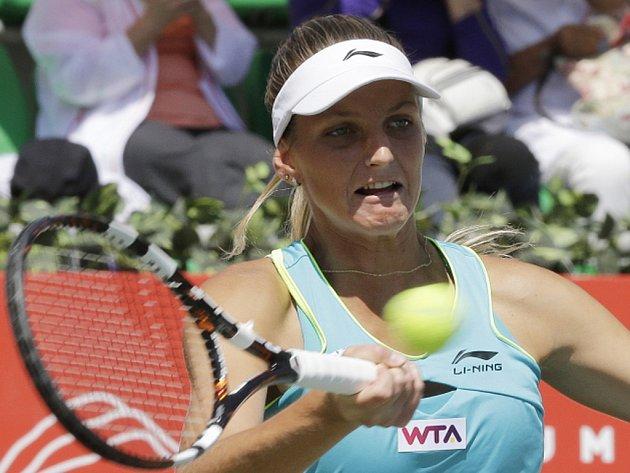 Karolína Plíšková na turnaji v Soulu.