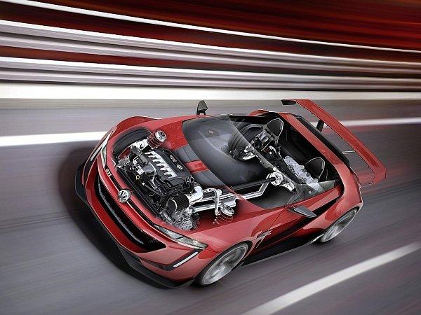 Koncept Volkswagen GTI Roadster.