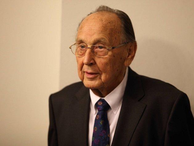 Bývalý německý ministr zahraničí Hans-Dietrich Genscher.
