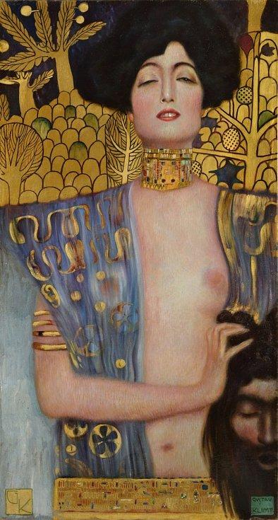 Ostravská Judita Gustava Klimta byla pojata jako femme fatale a patří mezi autorova nejslavnější díla