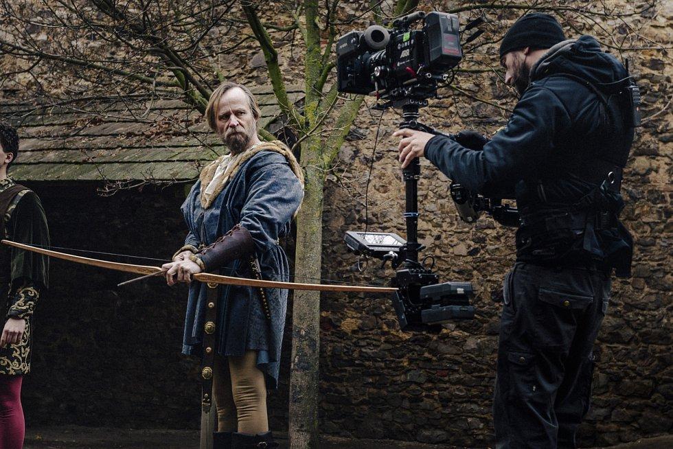 Karel Roden jako Václav IV. ve filmu Jan Žižka