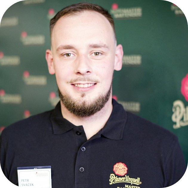 Vítěz regionálního kola soutěže Pilsner Urquell Master Bartender Petr Sváček