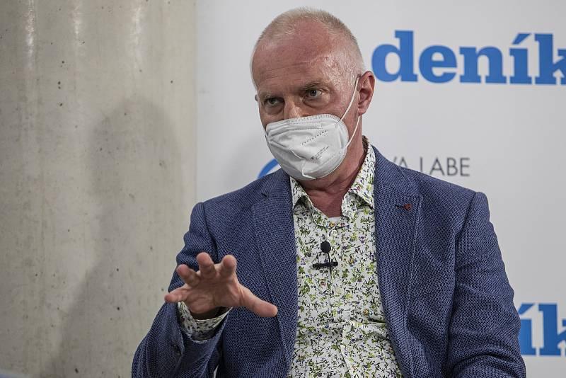 On-line debata Deníku na téma Nebezpečné silnice v Česku. Roman Budský.