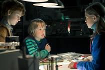 SPUTNIK. Dětský Star Trek ve východoněmeckých kulisách: Flora Li Thiemannová, Finn Fiebig a Luca Johannsen.