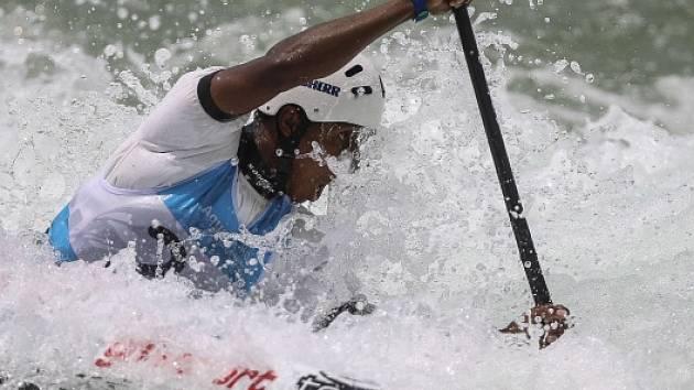 Snímek z olympijského kanálu v Riu