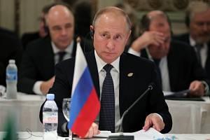 Vladimir Putin na setkání G20 v argentinském Buenos Aires