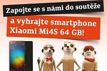 Zapojte se s námi do soutěže a vyhrajte smartphone Xiaomi Mi4S 64 GB!