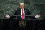 Americký prezident Donald Trump na Valném shromáždění OSN