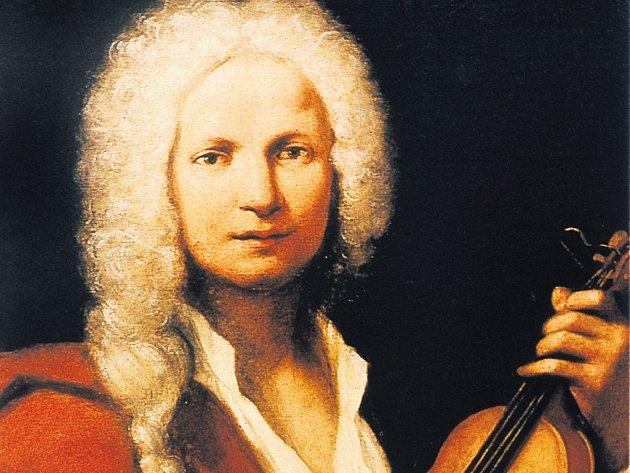 Nejznámější, avšak nepotvrzený portrét Antonia Vivaldiho (vlevo).