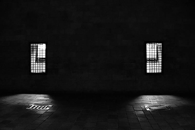 Uvnitř plynové komory v Dachau