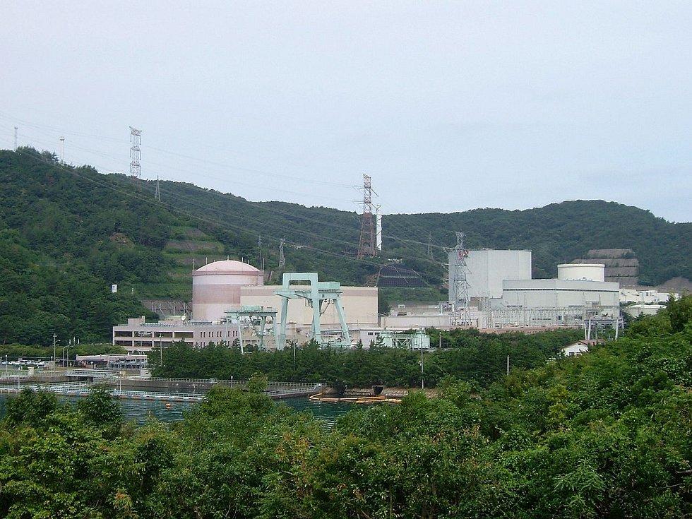 Japonská jaderná elektrárna Curuga slouží dodnes