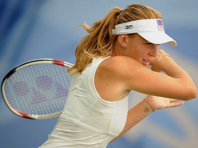 Nicole Vaidišová na olympijských hrách v Pekingu.