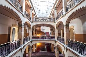 Interiér Grandhotelu Evropa