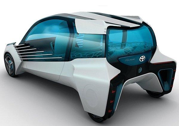 Koncept Toyota FCV Plus.