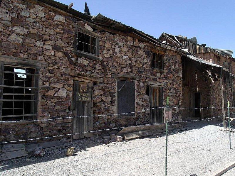 Arizonské Vulture City bylo jedním z měst, které přitáhlo obyvatele v době americké zlaté horečky. Ti město, které vybudovali, opustili poté, co horečka utichla.