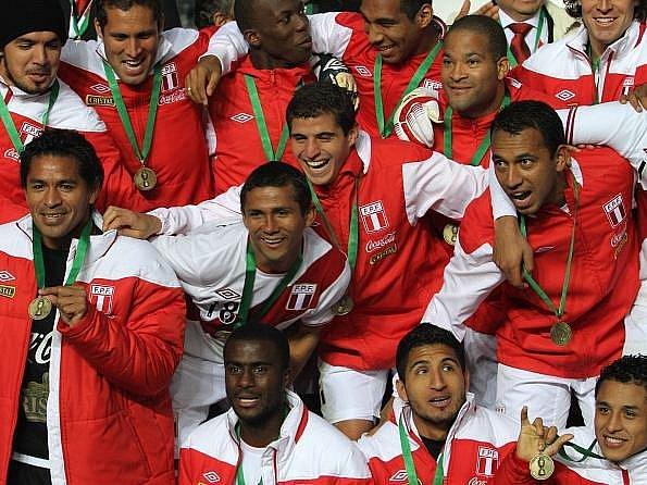 Fotbalisté Peru vybojovali na mistrovství Jižní Ameriky bronz.