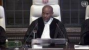 Předseda soudního senátu Abdulqawi Ahmed Yusuf