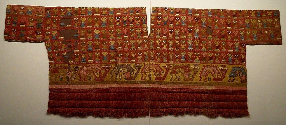 Pohřební oděv kultury Chimú
