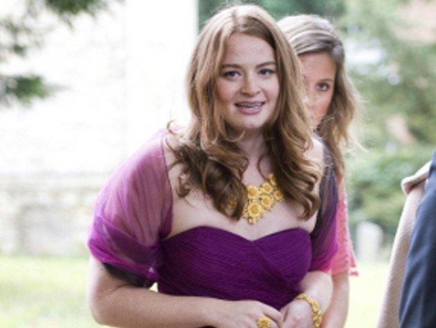 Dcera bývalého britského premiéra Tonyho Blaira Kathryn.